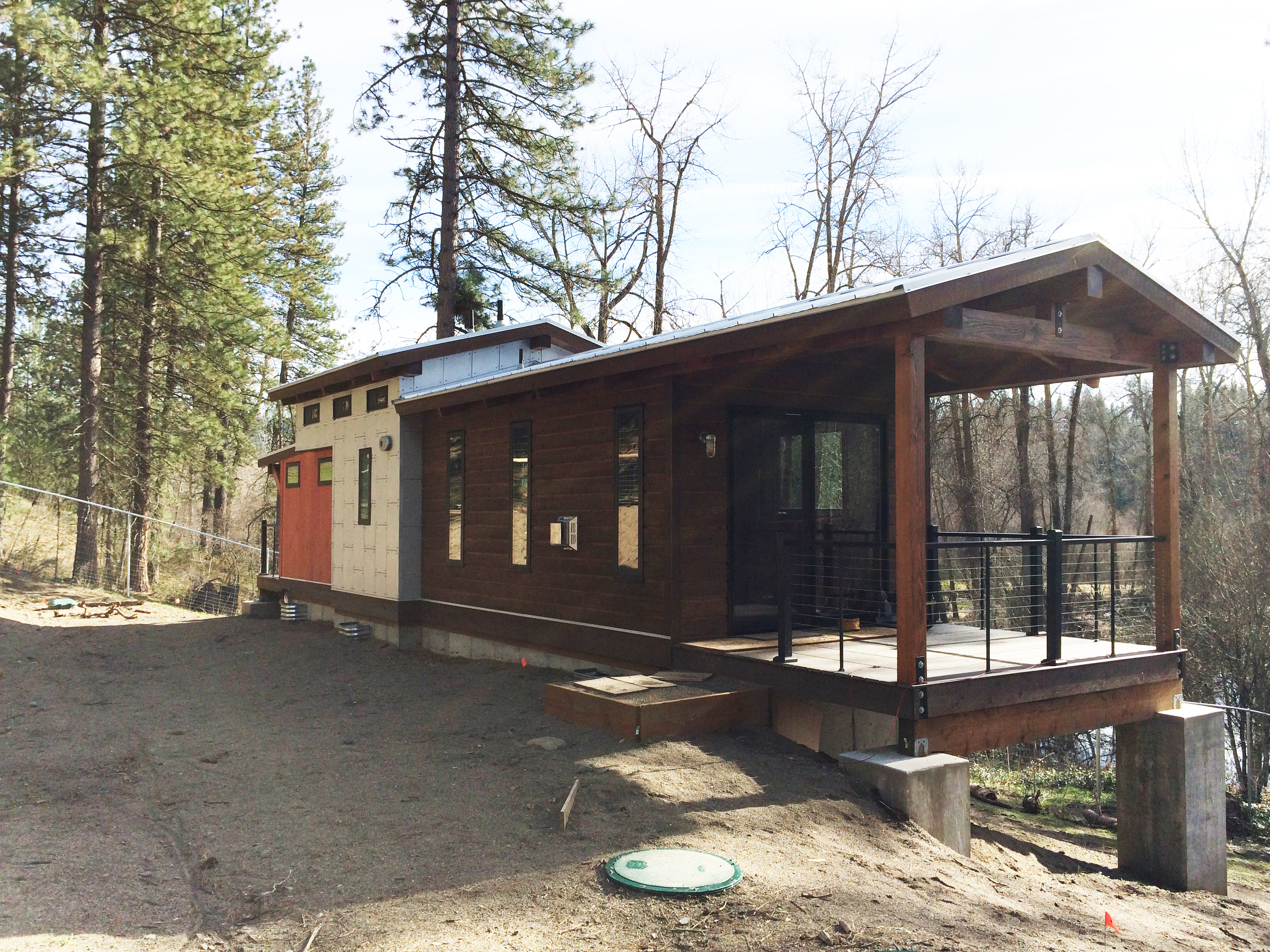 Caboose Park Model Trailer | Wheelhaus - Luxury Rolling Cabins on caboose construction plans, caboose interior plans, caboose shed plans, caboose diy plans, caboose cabin plans, caboose home plans, bobber caboose model plans,