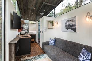 rolling tiny home